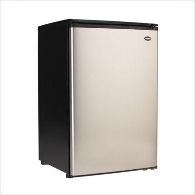 4.9+Cu.+Ft.+All+Refrigerator+in+Platinum